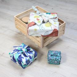 Emballage cadeau réutilisable -  Furoshiki