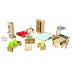 Maison écologique meublée