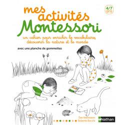 Mes activités Montessori...