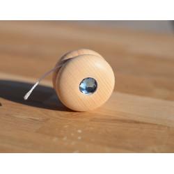 Yoyo scintillant en bois