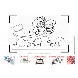 Cahier de dessins animés - Schtroumpfs