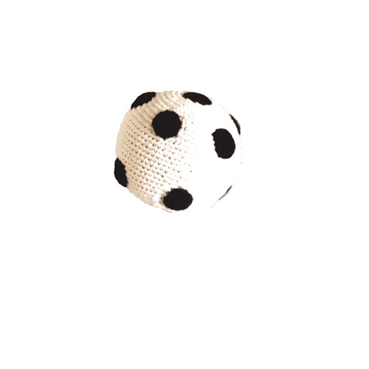 Balle sonore en crochet équitable