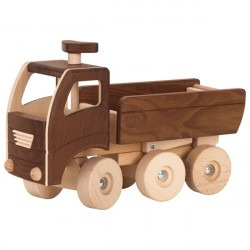 Camion-benne en bois...