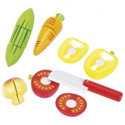 Légumes à couper avec scratch