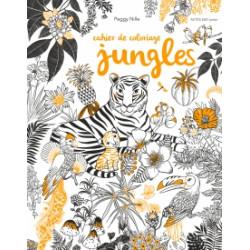 Cahier de coloriages - Jungle