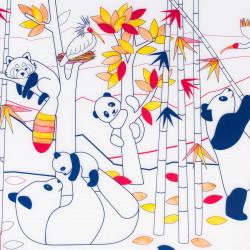 Set en silicone à colorier - Panda Asie