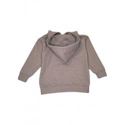 Sweat-shirt capuche Voltaire upcyclé